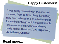 Worcester and Vaillant accredited installer Chester